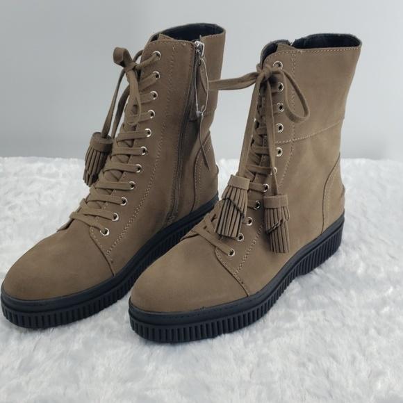Franco Sarto Shoes   Becks Suede Laceup